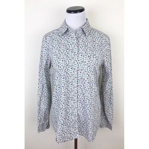 Prince & Fox Floral Button Front Shirt